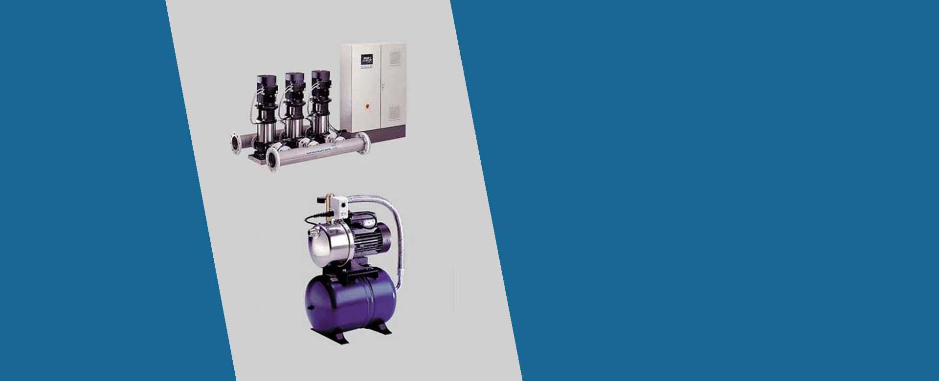 מערכות וויסות לחץ מים