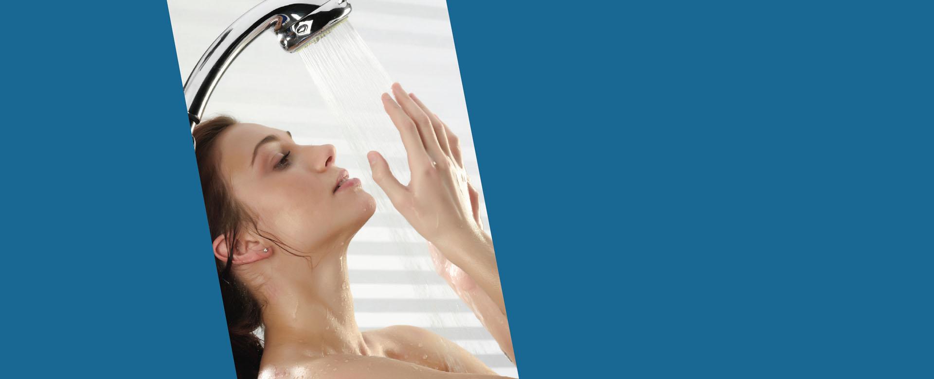 הגברת לחץ מים במקלחת