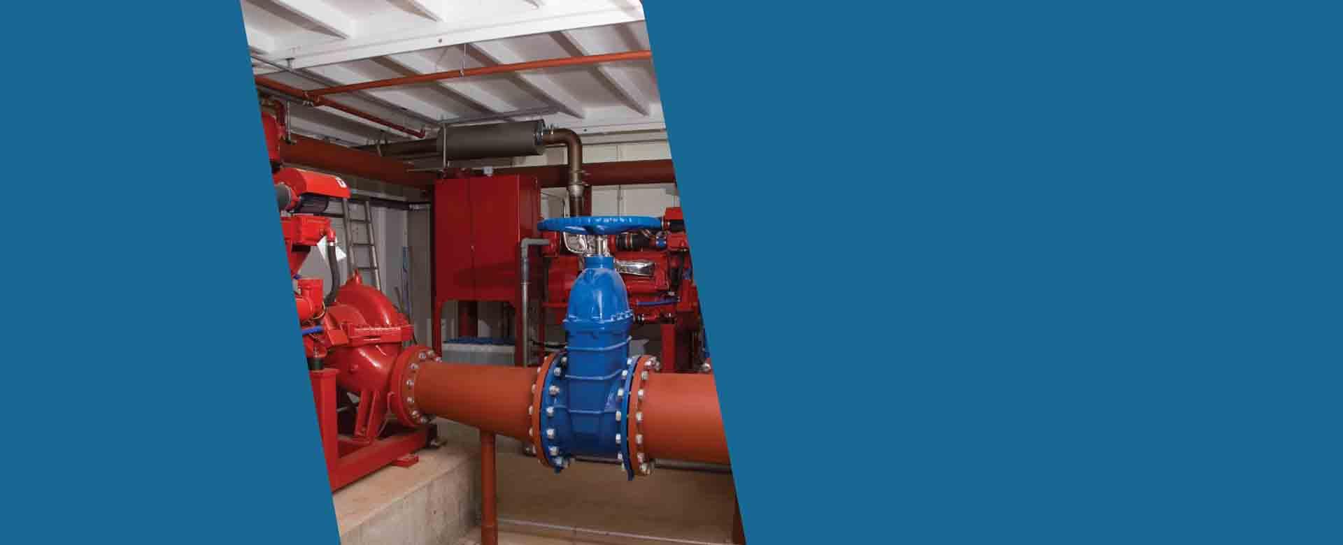 מערכות לחץ מים בבניין